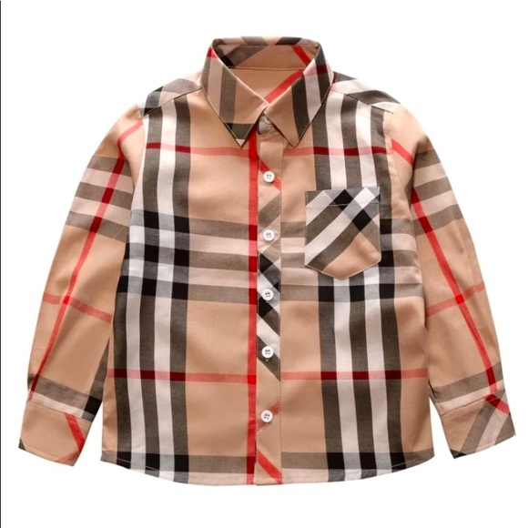 Other - Boys' check shirts NEW!